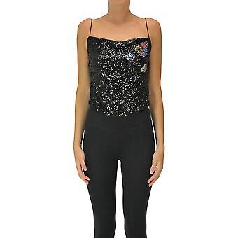 Pinko Ezgl016491 Women's Black Polyester Top
