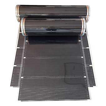 220v 50cm Width Healthy Underfloor Heating Carbon Film Heater Electric Carbon Crystal Fiber Heating Film