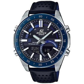 Casio Era-120bl-2avef Watch - MultifunctionAl Leather Bracelet Bo Tier Steel
