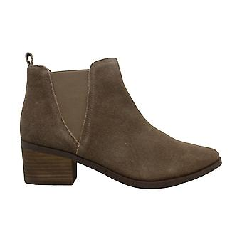 DV por Dolce Vita Women's Shoes Zipporah Suede Pointed Toe Ankle Fashion Boots