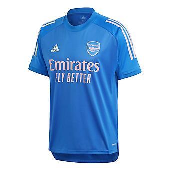 2020-2021 Arsenal Training Shirt (Glory Blue)