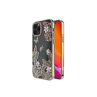 iPhone 12 Mini Cover Butterfly Pink