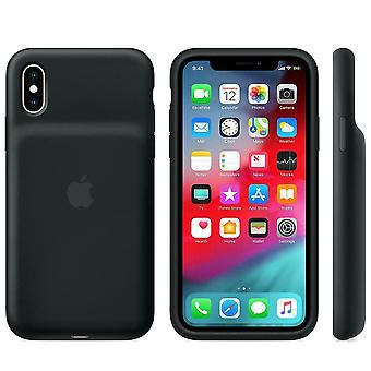 Virallinen Apple Smart akkukotelo iPhone XS: lle - musta - MRXK2ZM/A