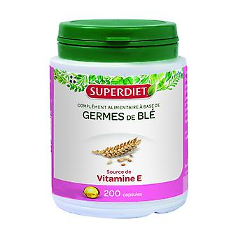 Wheat germ oil 200 capsules