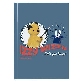 Sooty Izzy Wizzy Lets Get Busy Rabbit Magic Trick Hardback Journal