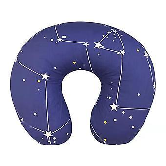 U-shaped Breastfeeding Nursing Pillow, Soft Slip Cushion Cover