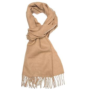 Krawatten Planet Plain Camel Beige Männer's lange Wolle Schal