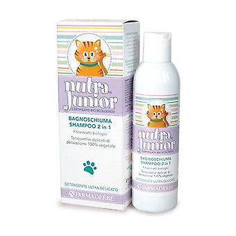 Nutra junion 2-in-1 shower gel shampoo 200 ml