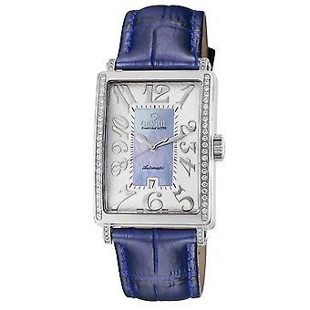 Gevril Mujeres's 6207NE Glamour Automático Reloj De Diamante Azul [Ver]