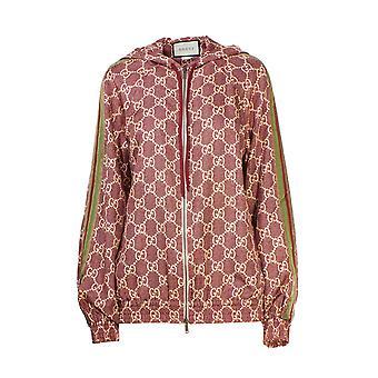 Gucci 631880xjcl55281 Damen's Rosa Seide Pullover