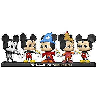 Mickey Mouse US Exclusive Pop! Vinyl 5-Pack
