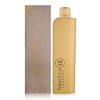 Perry ellis 18 sensual por Perry Ellis para mulheres 3.4 oz eau de parfum spray