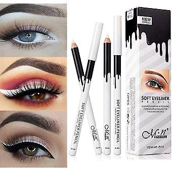 Eye's Makeup Waterproof Long Lasting Pigment White Eyeliner Pencil