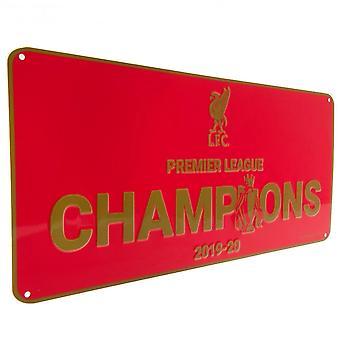 Liverpool FC Premier League Champions Plakett