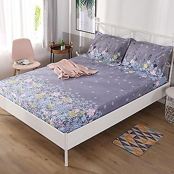Soft, Cozy Breathable, High Elastic Printed Bed Sheet And Pillow Case Set