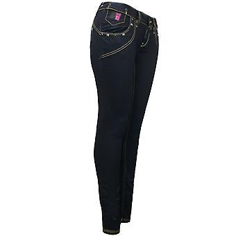 Gio Goi Denim Pant Womens Skinny Jeggings S10210011 A82C