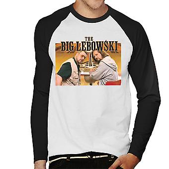 Big Lebowski The Dude ja Walter Bowling Alley Men's Baseball Pitkähihainen T-paita