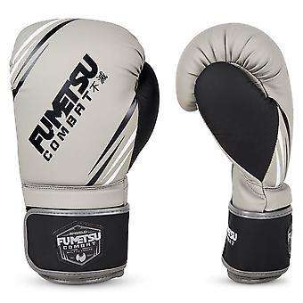Fumetsu Shield Boxing Gloves Grey/Black