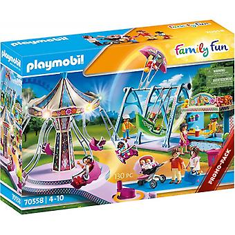 Playmobil Family Fun Promo Large County Fair Playset