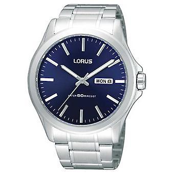 Lorus Miesten | Sininen valinta | Ruostumattomasta teräksestä valmistettu rannekoru RXN65CX9 Watch