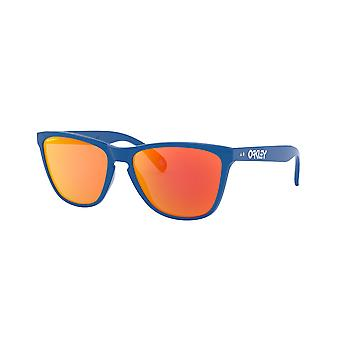 Oakley Frogskins 35th OO9444 04 Primary Blue/Prizm Ruby Sunglasses