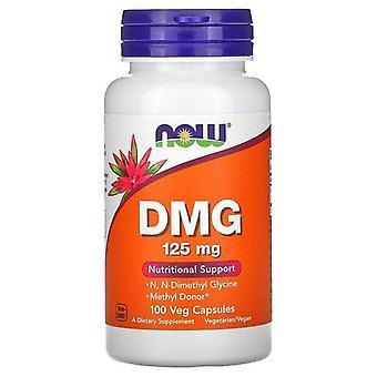 Nu Foods, DMG, 125 mg, 100 Veg kapslar