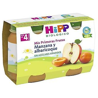 Hipp Baby Apricot and Apple 2x125 gr