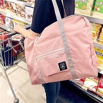Folding Travel Bag, Large Capacity Waterproof Tote Handbags