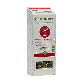 L'herbô 2 circulatory comfort complex 70 g