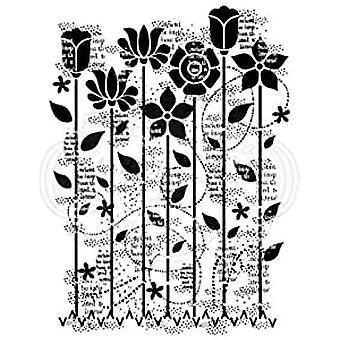 Woodware Clear Singles Dreamy Garden 4 en x 6 en Sello