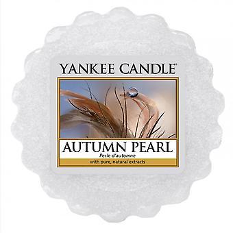Yankee candle autumn pearl wax tart