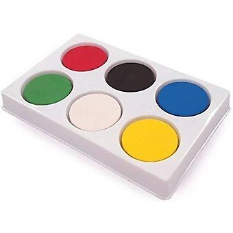6-Well block palette with paint 1 multi