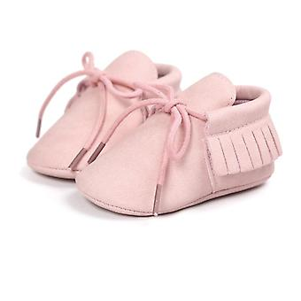 Baby Moccasin First Walkers Soft Soled Non-slip Fashion Tassels Newborn Shoes