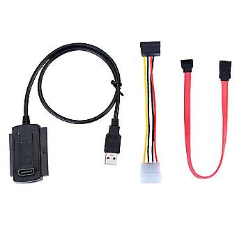 "Usb 2.0 To 2.5"" 3.5"" Cable For Hard Drive Disk Pata Ide Drive Converter"