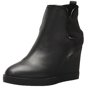 Donald J Pliner Womens LULUU Leather Almond Toe Ankle Fashion Boots