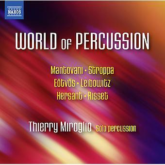 Mantovani / Miroglio - World of Percussion [CD] USA import