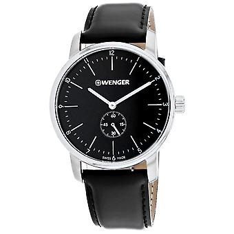 Wenger Men's Urban Black Dial Watch - 01.1741.102