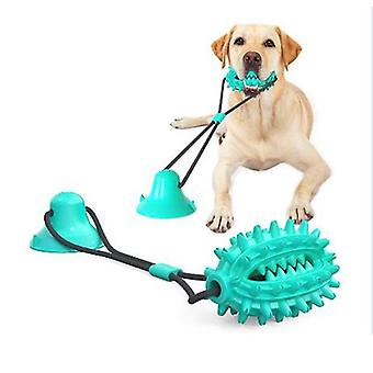 Dog Rope Ball With Suction Cup, Dog Chew Toys For Aggressive Chewers, Bite Resistant Dog Suction Toys