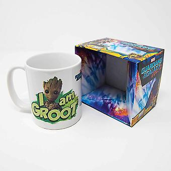 Pyramid MG24507 Guardians of The Galaxy Vol. 2 I Am Groot Ceramic Mug, Porcelain, Multicoloured