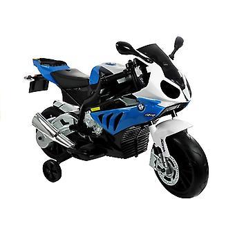 Elektrisk barnmotor BMW S1000R blå 12V