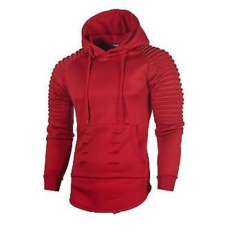 Men's Running Sweatshirt Jackets Hoodies Long Sleeved Gym Coat