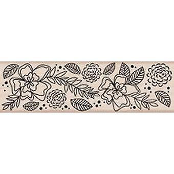 Hero Arts Flower Border - Wood Mounted Stamps