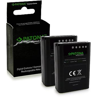 Wokex 2x Premium Akku wie PS-BLN1 für Olympus OMD E-M5 EM5 Stylus XZ-2 Pen E-P5 E-M1
