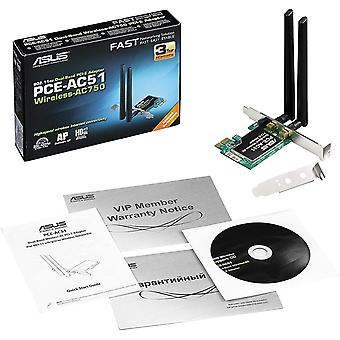 FengChun PCE-AC51 PCIe-Karte (Wi-Fi 5 AC750, 2x externe Antennen, DFS)