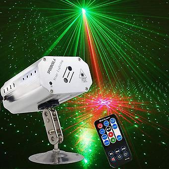 FengChun Party Lichter, DJ Disco Lichter Bühnenbeleuchtung LED-Projektor Karaoke Strobe Perform für