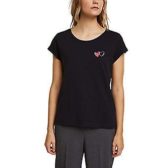 edc av Esprit 011CC1K329 T-Shirt, 001/black, S Woman