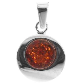 InCollections 10203570100 - Women's pendant with amber, sterling silver 925