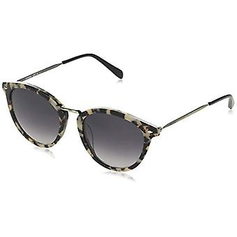 Fossil FOS 2092/G/S Sunglasses, HV Silver, 51 Womens