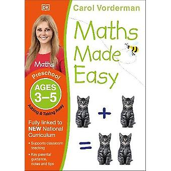 Maths Made Easy Adding  Taking Away Ages 35 Preschool Supports the National Curriculum Preschool Exercise Book Made Easy Workbooks