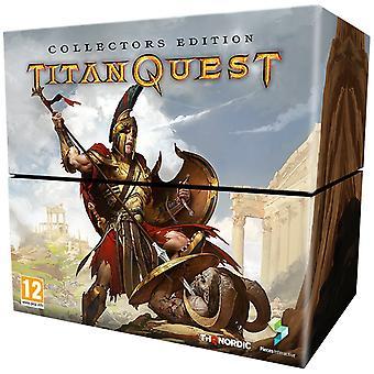 טיטאן Quest אספן של מהדורה PS4 משחק